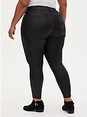 Jegging - Super Soft Coated Black, BLACK, alternate