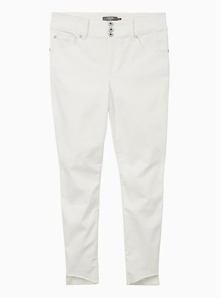 Jegging - Super Soft White With Step Hem, WINTER WHITE, hi-res