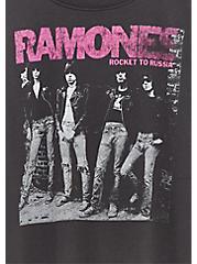 Ramones Classic Fit Tee - Vintage Black, DEEP BLACK, alternate