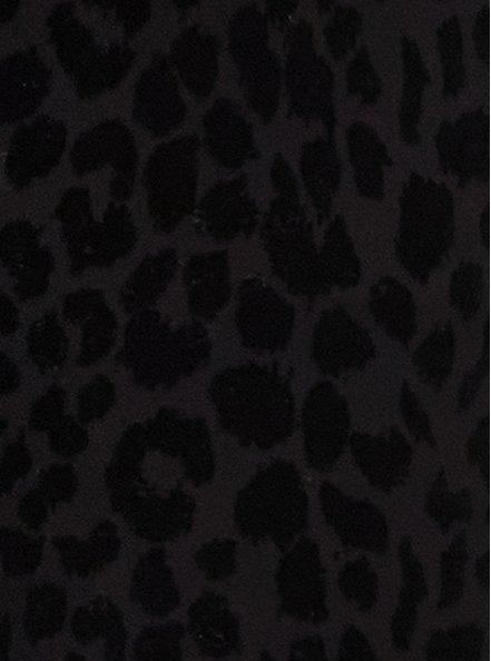 Studio Ponte Flocked Leopard Pull-On Pixie Pant, ANIMAL, alternate