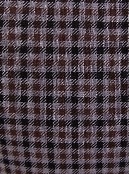 Studio Signature Stretch Grey Plaid Premium Ponte Menswear Trouser, PLAID - MULTI, alternate