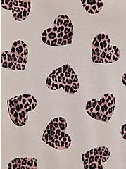 Long Sleeve Crew Tee - Super Soft Leopard Hearts, , alternate