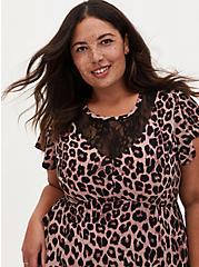 Plus Size Leopard Studio Knit Midi Dress, MIDI LEOPARD, alternate