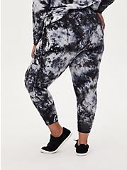 Classic Fit Active Jogger - Terry Tie-Dye Black & Grey, TIE DYE, alternate