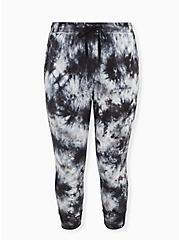 Black & Grey Tie-Dye Active Jogger, TIE DYE, hi-res