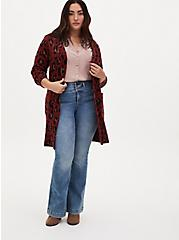 Madison - Taupe Crepe Button Front Blouse, FAWN, alternate