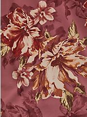Walnut Floral & Black Lace Button Cami, FLORAL - BROWN, alternate