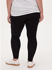 Premium Legging - Stripe Stud Black, BLACK, alternate