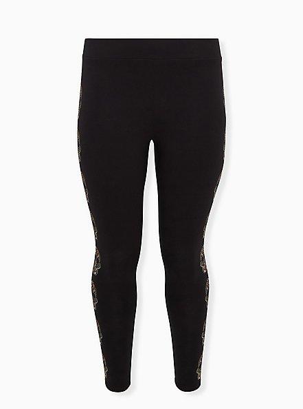 Premium Legging - Skull Black, MULTI, hi-res