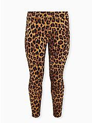 Premium Legging - Leopard Print, ANIMAL, hi-res