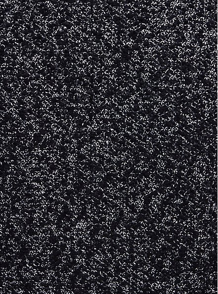 Black & White Boucle Statement Coat, DEEP BLACK, alternate