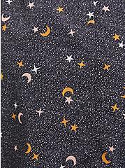 Black Star Nylon Hooded Rain Anorak, CELESTIAL, alternate