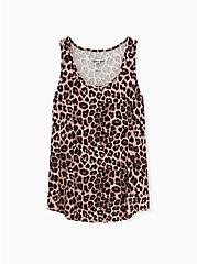 Super Soft Leopard Sleep Tank, MULTI, hi-res