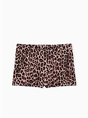Plus Size Super Soft Leopard Sleep Short, MULTI, hi-res