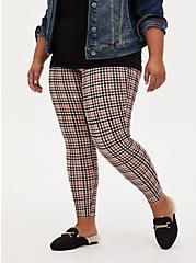 Premium Legging - Gingham Grey, MULTI, alternate