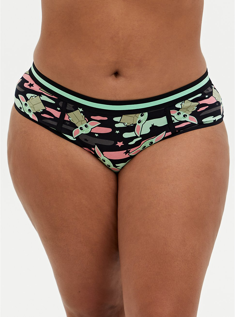 Star Wars The Mandalorian The Child Camo Cotton Hipster Panty, MULTI, hi-res