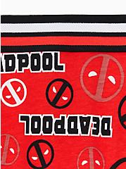 Marvel Deadpool Logo Red Cotton Hipster Panty, MULTI, alternate