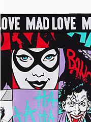 DC Comics Harley Quinn & The Joker Multi Cotton Boyshort Panty, MULTI, alternate