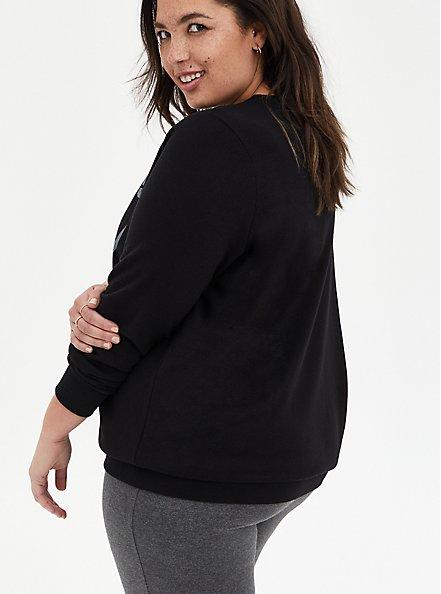 The Goonies Never Say Die Black Sweatshirt, DEEP BLACK, alternate