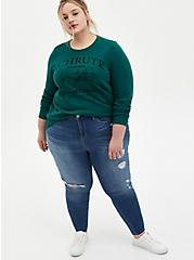 The Office Schrute Farms Green Sweatshirt, , alternate