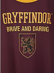 Harry Potter Gryffindor Burgundy Purple Classic Fit Ringer Tee, WINETASTING, alternate