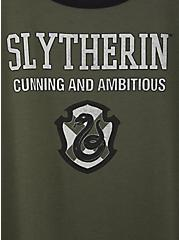 Harry Potter Slytherin Green Classic Fit Ringer Tee, , alternate