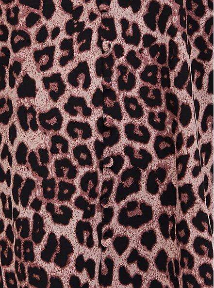 Leopard & Black Lace Button Cami, MIDI LEOPARD, alternate