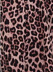 Leopard & Black Lace Button Cami, MIDI LEOPARD, alternate