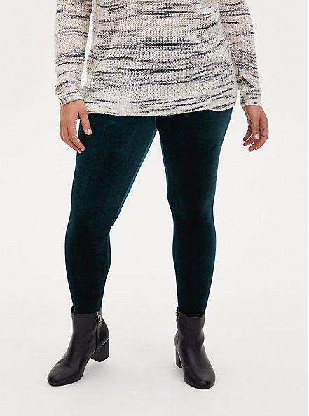 Platinum Legging - Velvet Teal, GREEN, alternate