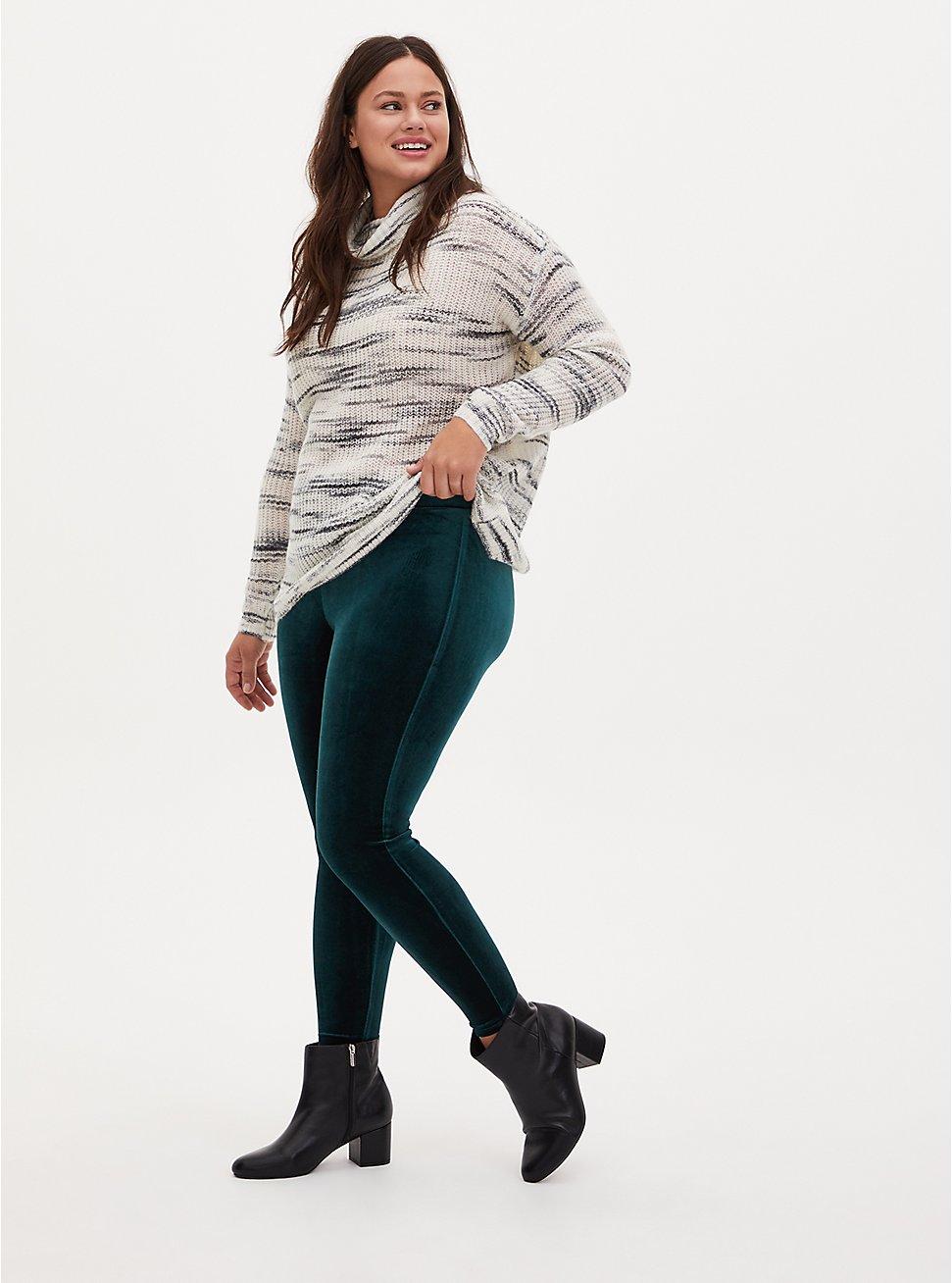 Platinum Legging - Velvet Teal, GREEN, hi-res
