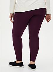 Premium Leggings - Grape Purple, PURPLE, alternate