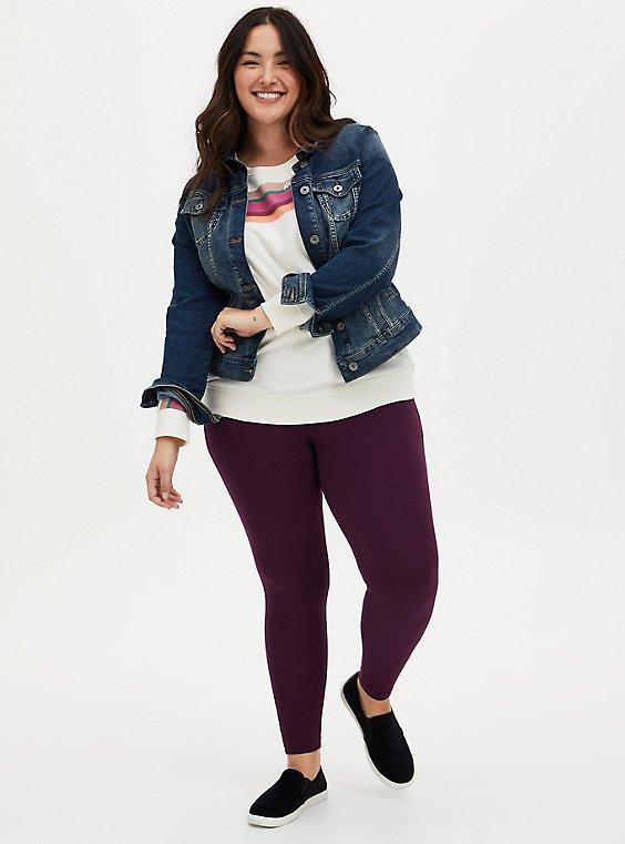 Premium Leggings - Grape Purple, PURPLE, hi-res
