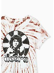 Classic Fit Crew Tee - The Doors Pink Tie-Dye , , alternate