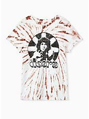 Classic Fit Crew Tee - The Doors Pink Tie-Dye , , hi-res