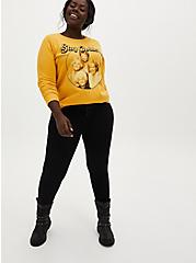 Plus Size The Golden Girls Golden Yellow Fleece Sweatshirt, , alternate