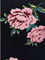 Favorite Tunic Tee - Super Soft Floral Black, DEEP BLACK, alternate