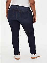 Boyfriend Straight Jean - Vintage Stretch Medium Wash, KEEP IT 100, alternate