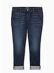 Boyfriend Straight Jean - Vintage Stretch Medium Wash, KEEP IT 100, hi-res