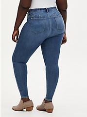 Plus Size Bombshell Skinny Jean - Super Soft Eco Medium Wash, , fitModel1-alternate