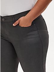 Bombshell Skinny Jean - Coated Grey, COATED GREY, alternate