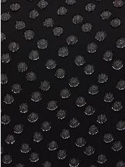Black Clip Dot Shimmer Tank, DEEP BLACK, alternate