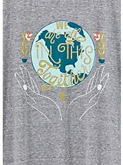 #TorridStrong In This Together Slim Fit Crew Tee - Triblend Grey, MEDIUM HEATHER GREY, alternate