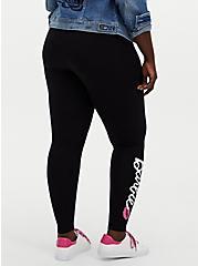 Barbie Logo Black Legging, BLACK, alternate