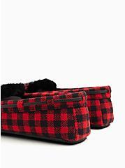 Red & Black Buffalo Plaid Slipper (WW), RED, alternate