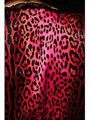 Betsey Johnson Hot Pink Leopard Satin Robe , ROMANTIC LEOPARD, alternate