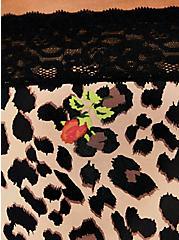 Betsey Johnson Leopard Floral Second Skin Hipster Panty, LEOPARD ROSE BUD, alternate