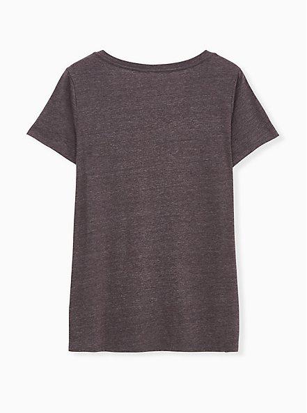 Work To Be Done Slim Fit V-Neck Tee - Triblend Jersey Dark Slate Grey, NINE IRON, alternate