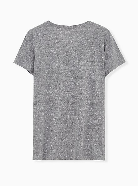 Fox Slim Fit Crew Tee - Triblend Jersey Heather Grey, MEDIUM HEATHER GREY, alternate