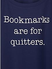 Bookmarks Navy Football Graphic Tee, PEACOAT, alternate