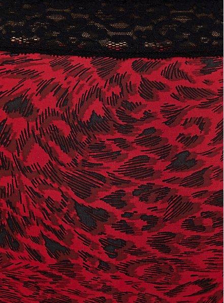 Red Heart Swirls Second Skin Brief Panty, HEART SWIRL JESTER RED, alternate